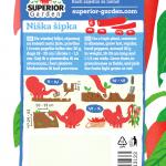 opis paprike niska sipka i ilustracija instrukcija za sadnju sa slonicem na zadnjoj strani kesice
