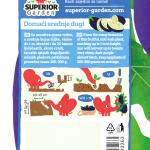opis patlidzana domaci srednje dugi i ilustracija instrukcija za sadnju sa slonicem na zadnjoj strani kesice