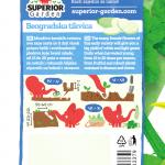 opis tikvice beogradske i ilustracija instrukcija za sadnju sa slonicem na zadnjoj strani