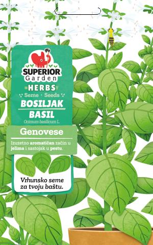 superior garden herbs seme bosiljak genovese link ka proizvodu