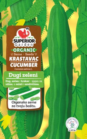 superior garden organic seeds cucumber dugi zeleni link to product
