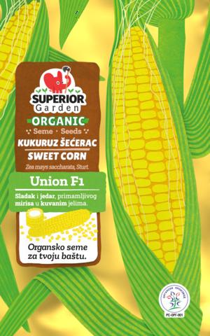 superior garden organic seme kukuruz secerac union f1 link ka proizvodu