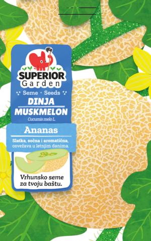 superior garden seme dinja ananas link ka proizvodu