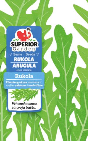 superior garden seme rukola link ka proizvodu