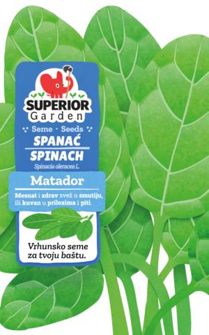 superior garden seedse spinach matador link to product